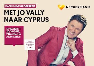 Met Jo Vally naar Cyprus