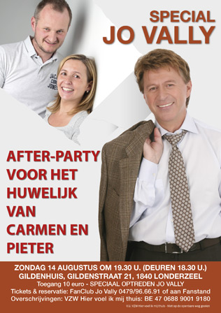 After party Carmen en Pieter