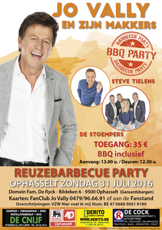 Reuzebarbecue Party