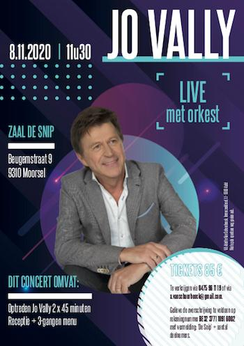 Jo Vally live met orkest