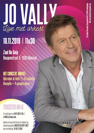 Jo Vally live met orkest