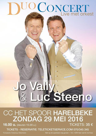 Jo Vally en Luc Steeno