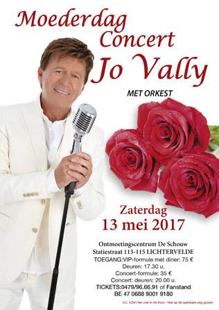Moederdagconcert met Jo Vally
