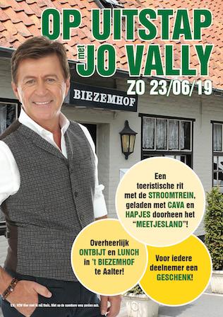 Op uitstap met Jo Vally